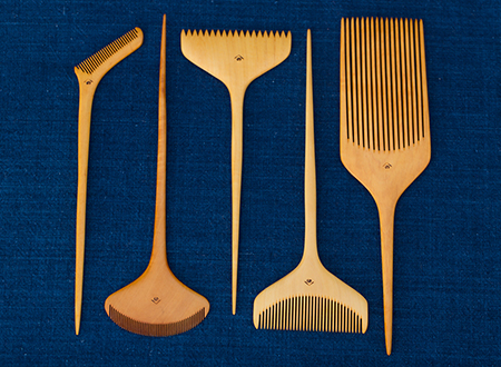 Professional Styling Tools (vertical combs)