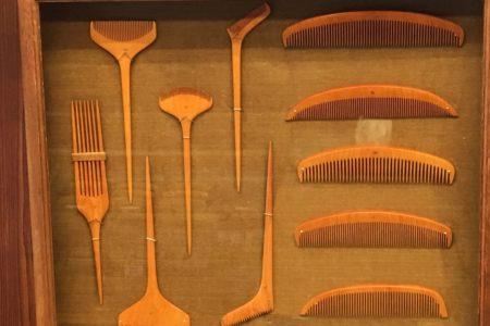 古い歴史を持つ黄楊の櫛